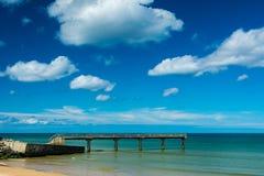Пляж Омахи Стоковое Изображение RF