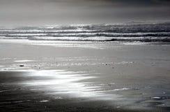 Пляж Орегона Стоковое Изображение