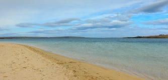 Пляж оркнейских остров Стоковые Фото