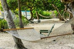 Пляж острова девственницы Стоковое Изображение