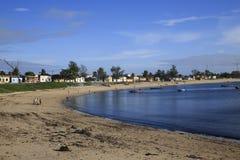 Пляж острова Мозамбика, Стоковое Изображение