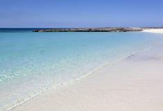 Пляж острова рая Стоковые Фотографии RF