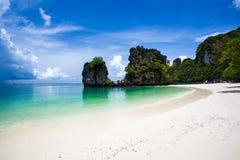 Пляж острова Hong Стоковые Изображения RF