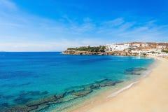 Пляж острова Mykonos, Греция Стоковые Изображения