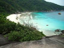 Пляж острова Similan Стоковое Изображение RF