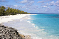 Пляж отсутствие человека Стоковая Фотография RF