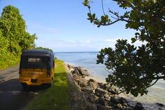 Пляж от Мадагаскара Стоковая Фотография RF
