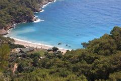 Пляж долины Kabak стоковое изображение rf