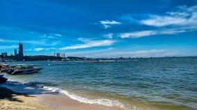 Пляж Паттайя стоковая фотография