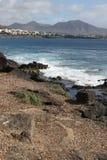 Пляж перемещения моря стоковая фотография rf