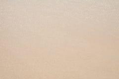 Пляж песка и отражение солнечного света Стоковое Изображение