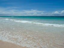 Пляж песка сахара кондитера Стоковое фото RF