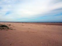Пляж песков, лес Tentsmuir, Tayport Стоковое фото RF