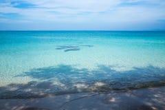 Пляж, песок, море, абстрактная предпосылка Стоковое Изображение RF