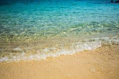 Пляж, песок, предпосылка моря абстрактная Стоковые Фото