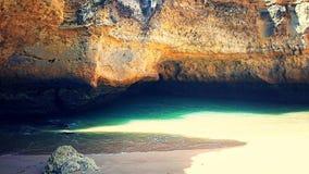 Пляж пещеры Стоковое Изображение RF