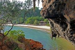 Пляж пещеры Phranang, Таиланд Стоковые Фотографии RF