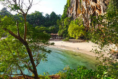 Пляж пещеры Phranang, Таиланд Стоковые Изображения