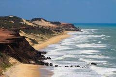Пляж пипы стоковые фото