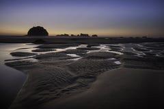 Пляж побережья Орегона Стоковое Изображение