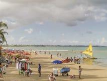 Пляж Порту Galinhas Стоковые Изображения