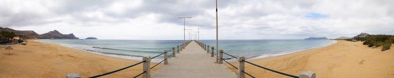 Пляж Порту Santo Стоковая Фотография