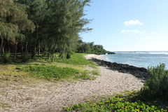 Пляж 2 посадки Tinian Стоковая Фотография RF