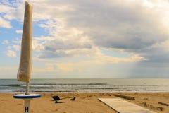 Пляж подготовки Стоковая Фотография RF