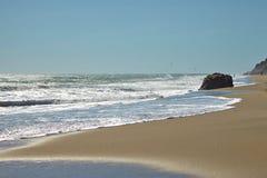 Пляж положения лагуны Malibu в Malibu, Стоковая Фотография