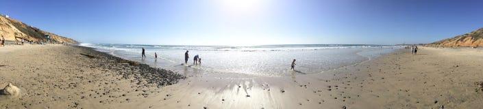 Пляж положения Карлсбада Стоковая Фотография