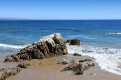 Пляж положения Лео Carrillo стоковые изображения