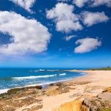 Пляж положения полости фасоли Калифорнии в Cabrillo Hwy стоковые изображения
