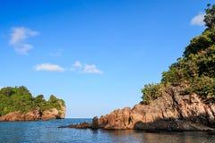 Пляж предпосылки каменный, Стоковое Фото