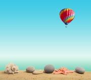Пляж предпосылки. Стоковая Фотография RF