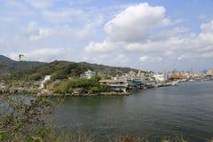 Пляж пристани парома cijin Стоковые Фотографии RF