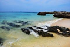 Пляж провинция Таиланда, Пхукета Стоковое Изображение
