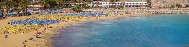 пляж Пуерто Рико Стоковое Изображение