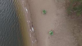 пляж пустой сток-видео