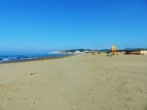 пляж пустой Стоковые Фото