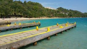 Пляж Пуэрто-Рико шлюпки аварии Стоковые Фотографии RF