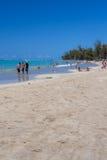 Пляж Пуэрто-Рико Luquillo Стоковое Изображение