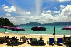 пляж Пхукета Таиланда Стоковая Фотография