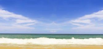 Пляж Пхукет Таиланд красоты Nai yang Стоковое фото RF