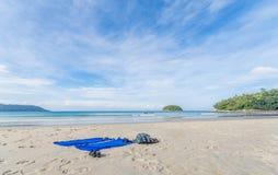 пляж Пхукет kata, Таиланд Стоковые Фотографии RF