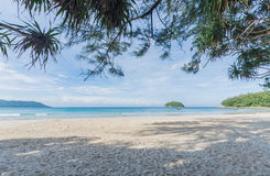 пляж Пхукет kata, Таиланд Стоковое фото RF