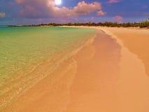 Пляж пятна на Солнце острова кота Стоковое Изображение