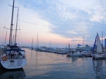 Пляж площади Qingdao олимпийский стоковая фотография