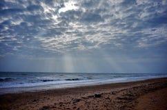 Пляж раковины острова Weizhou стоковая фотография rf