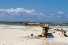 Пляж рая Стоковое фото RF
