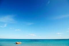 Пляж рая Стоковое Фото